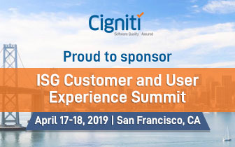 ISG Customer and User Experience Summit