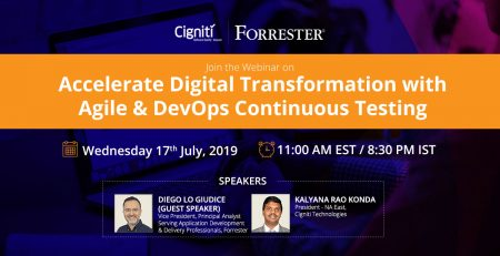 Accelerate Digital Transformation with Agile & DevOps Continuous Testing
